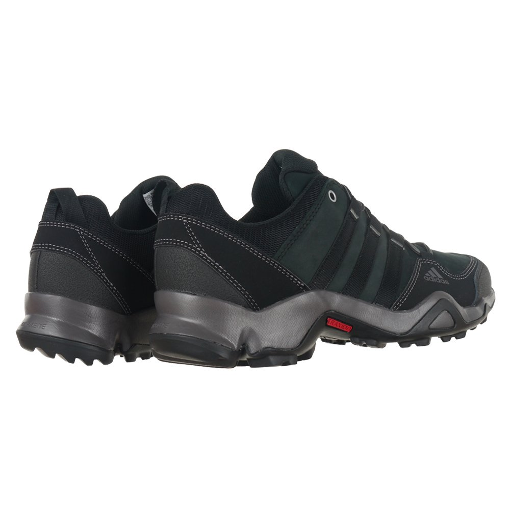 Details about adidas Brushwood Black Outdoor Men's Trainers Leather Hiking Trekking Shoes