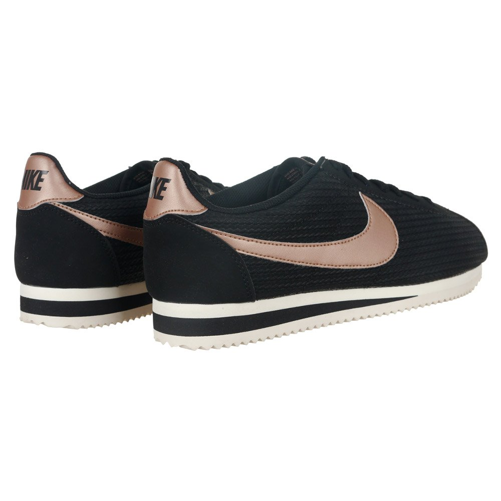 Nike | Nike Classic Cortez Leather Luxe Trainers In Black