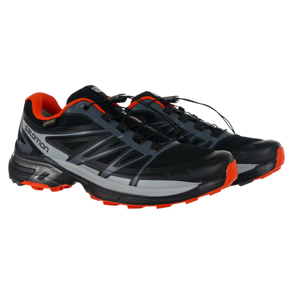 64b5e5a957f7 Men s Trail Running Shoes SALOMON Wings Pro 2 Gore-Tex Outdoor Weatherproof