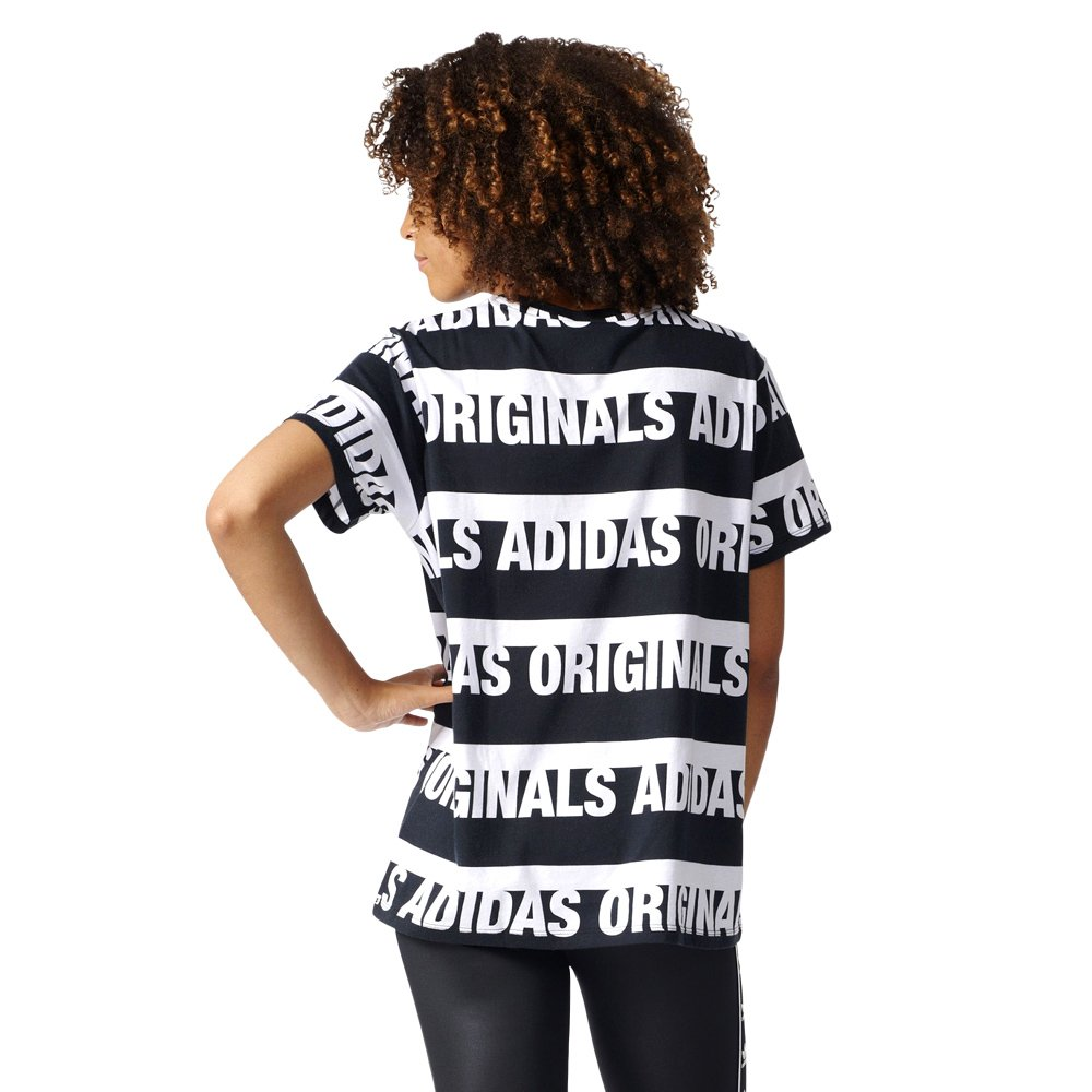 8cb01d5a105a Women s adidas Originals T-shirt Boyfriend Trefoil Crew Neck Short Sleeve  Tee
