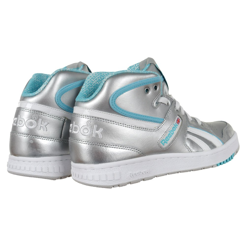 ae45ded91f4 Women s Sneakers Reebok Classic Pro Legacy Mid Trainers Silver Everyday  Shoes